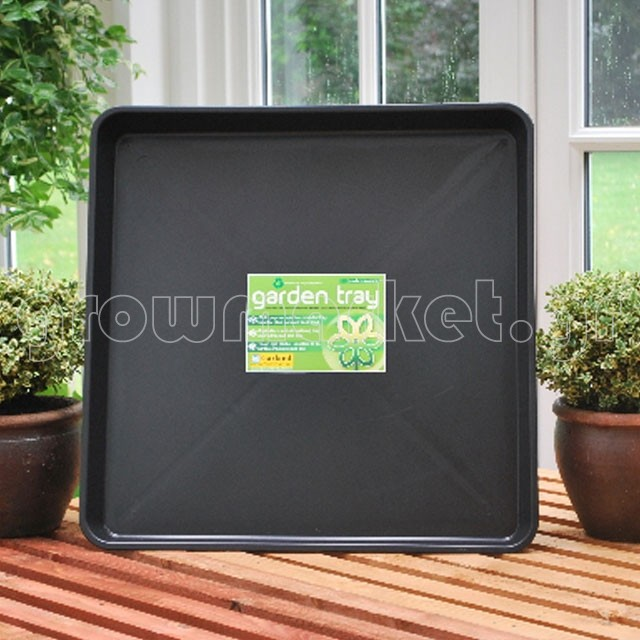G45 Square Gravel Tray Black