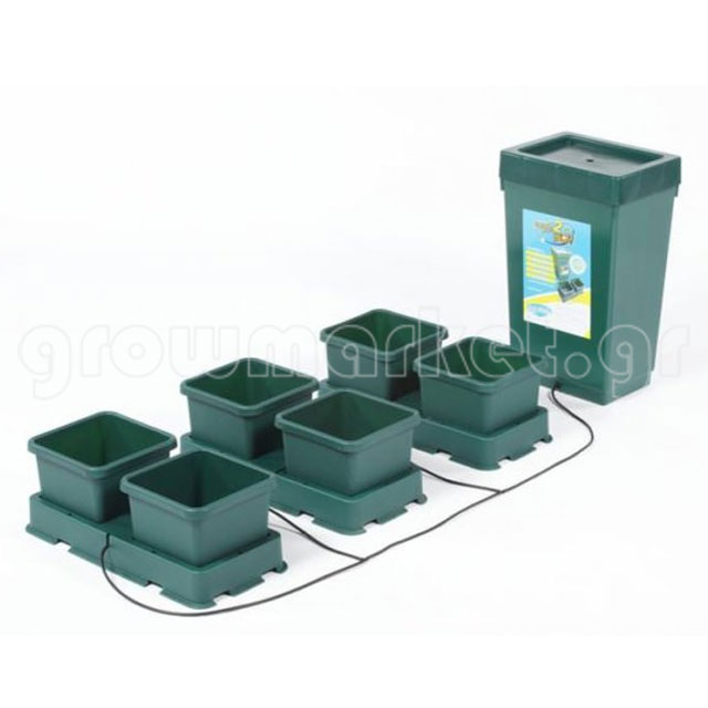 Πλήρες kit Easy2Grow 6-pot (6x8.5lt)
