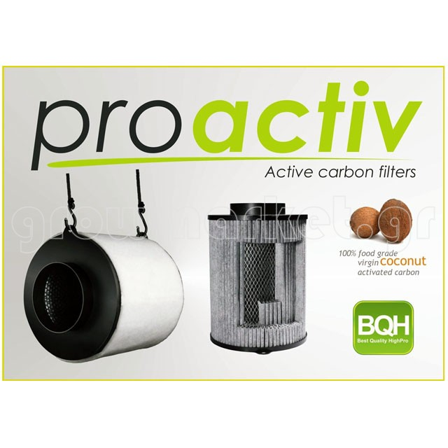Proactiv Carbon Filter 100mm/250mm/250m3