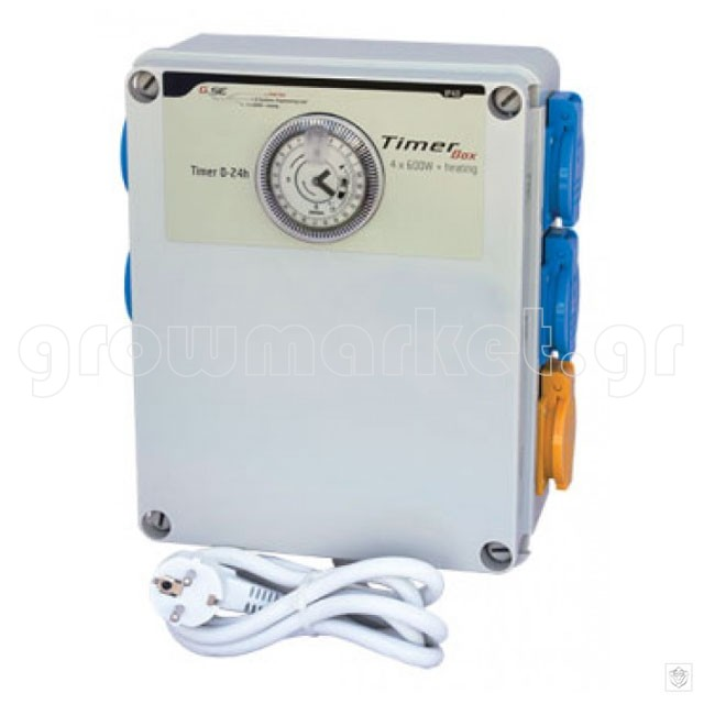G-Systems Timer Box II 4x600W & Heating