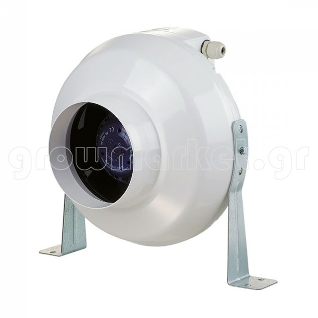Tubular Fan VK Plastic 100mm-250 m3/h