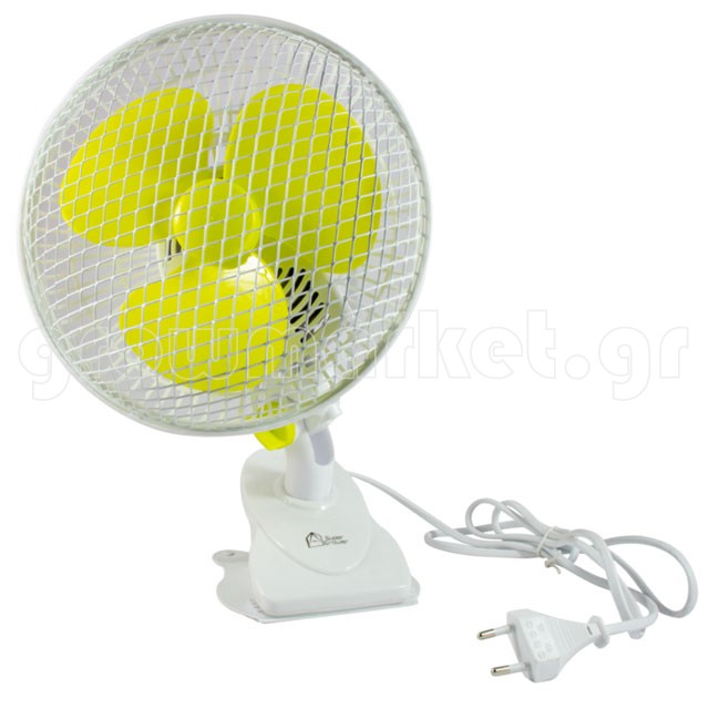 Supergrower Rotating Clip Fan 15cm