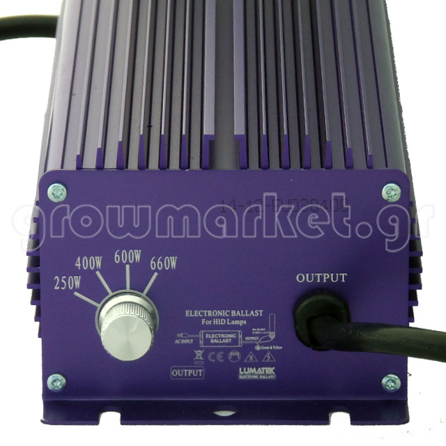 Lumatek Digital Ballast Dimmable 400W-600W