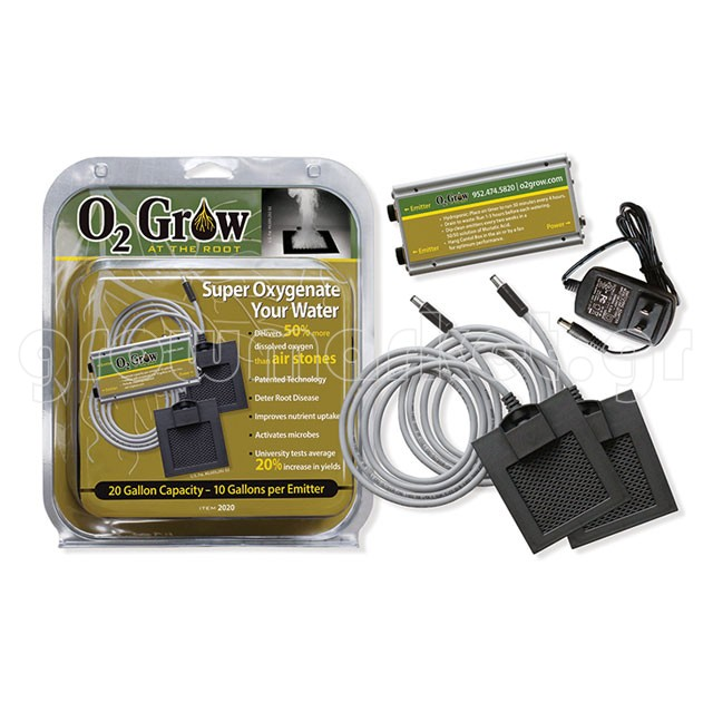 O2 Grow 2020 with 2 Emitters for 75.7lt