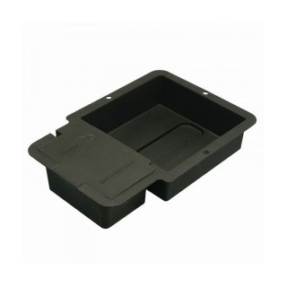 1-Pot Tray & Lid Black