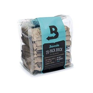 Boveda Humidity Control 67gr- 62% 20 Pack Brick