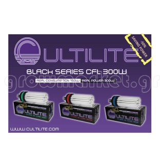 Cultilite Black Series CFL Lamp 300W/6400K