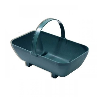 Large Trug Planter Green