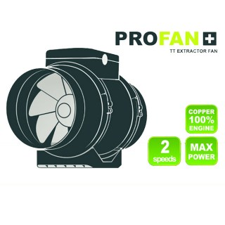 Profan TT Extractor Fan 100mm 2-Speed