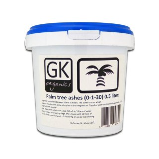 Gk-organics Palm Tree Ashes 500ml