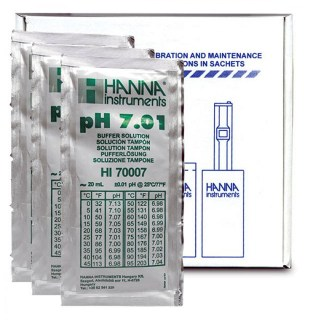 Hanna pH buffer 7.01 Sachet 25x20ml