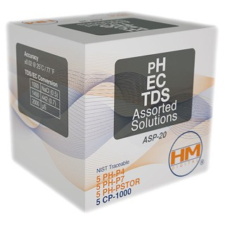 HM ASP 20ml  PH-EC-TDS Asorted Solutions