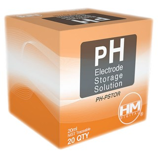 HM PH-Electrode Storage Solution Box of 20x20ml