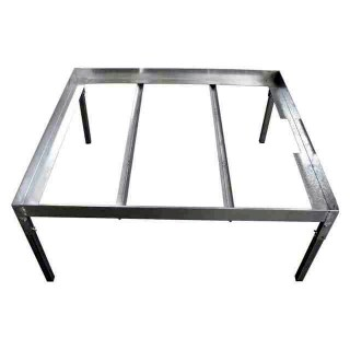 Metallic Support Table (1x2m)