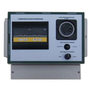 Humidity & Temperature Control Panel 8x600W With Terminal Block
