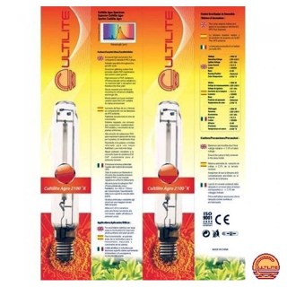 Cultilite HPS Son T Agro Lamp 600W