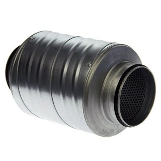NF Ventilation Round Silencer Rubber Seal Ring 125mm x 30cm