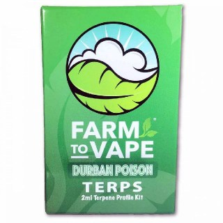 Terpenes Farm to Vape Durban Poison 2ml
