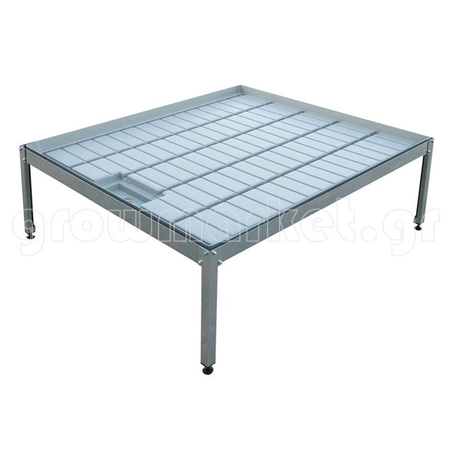 Metallic Support Table (1x1m)