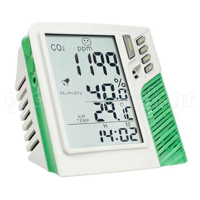 CO2 Meter Monitor with SD Card VDL