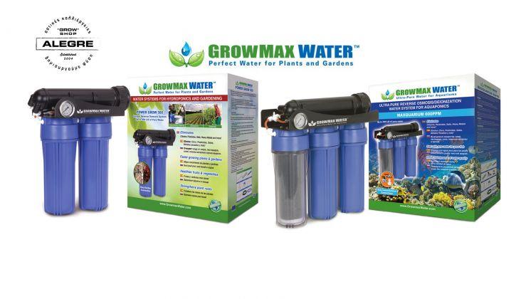 Τα προϊόντα της Growmax Water στο Alegre growshop