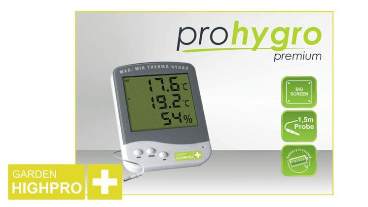 Garden High Pro Premium Θερμόμετρο/Υγρόμετρο